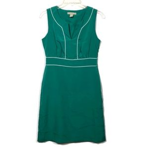 Banana Republic Cadmium Green Sheath Dress